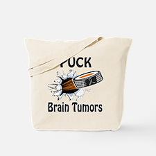 Puck Brain Tumors Tote Bag