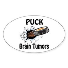 Puck Brain Tumors Decal