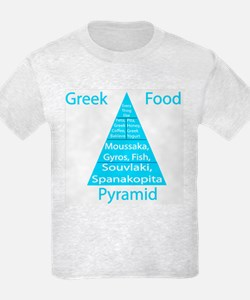 Greek Food Pyramid T-Shirt
