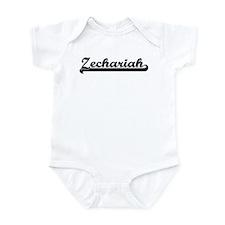 Black jersey: Zechariah Infant Bodysuit