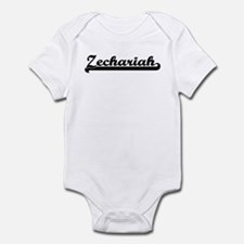 Black jersey: Zechariah Infant Bodysuit