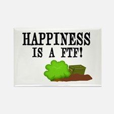 Happiness is A FTF Rectangle Magnet