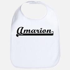 Black jersey: Amarion Bib