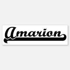 Black jersey: Amarion Bumper Bumper Bumper Sticker