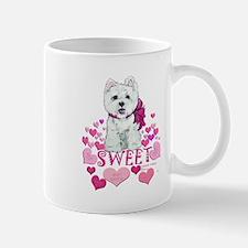Westie Valentine Candy Mug