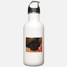 Would this face lie? Water Bottle