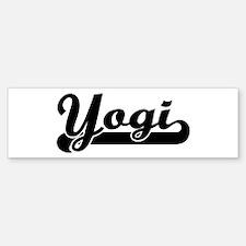 Black jersey: Yogi Bumper Bumper Bumper Sticker