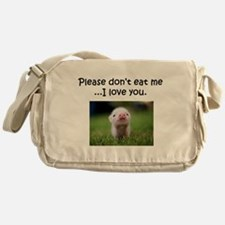 Dont Eat Me Messenger Bag