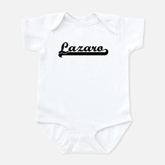 Black jersey: Lazaro Infant Bodysuit