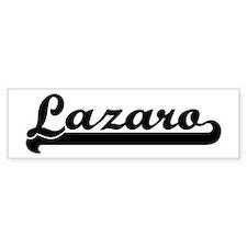 Black jersey: Lazaro Bumper Bumper Sticker