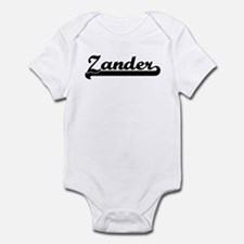 Black jersey: Zander Infant Bodysuit