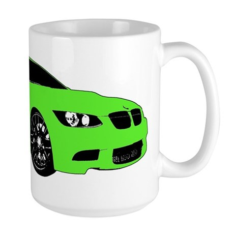 BMW E92 M3 M SPORT Lime Green Special Edition Larg