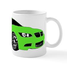 BMW E92 M3 M SPORT Lime Green Special Edition Mug