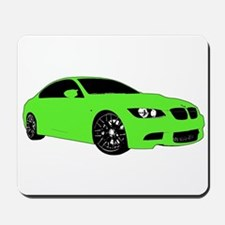 BMW E92 M3 M SPORT Lime Green Special Edition Mous