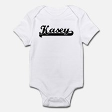 Black jersey: Kasey Infant Bodysuit