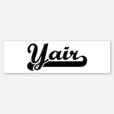 Black jersey: Yair Bumper Bumper Bumper Sticker