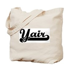 Black jersey: Yair Tote Bag