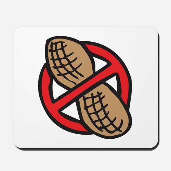 No Peanuts! Mousepad
