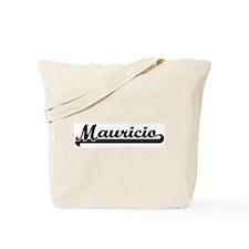 Black jersey: Mauricio Tote Bag