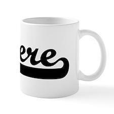 Black jersey: Sincere Mug