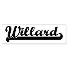 Black jersey: Willard Bumper Bumper Sticker