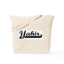 Black jersey: Yahir Tote Bag