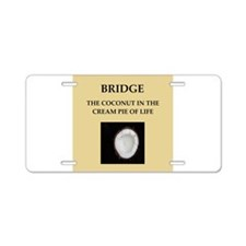 BRIDGE10.png Aluminum License Plate
