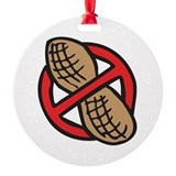 Peanut allergy Round Ornament