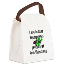 I use to have superpowers Canvas Lunch Bag