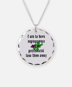 I use to have superpowers Necklace
