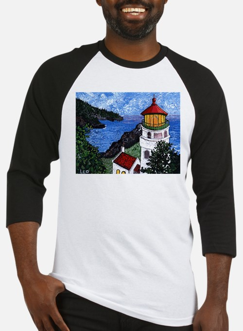 Heceta Head Lighthouse, Oregon Baseball Jersey
