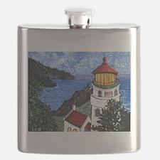 Heceta Head Lighthouse, Oregon Flask