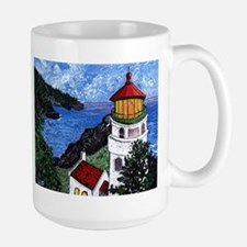 Heceta Head Lighthouse, Oregon Large Mug