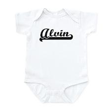 Black jersey: Alvin Infant Bodysuit
