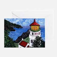 Heceta Head Lighthouse, Oregon Greeting Card