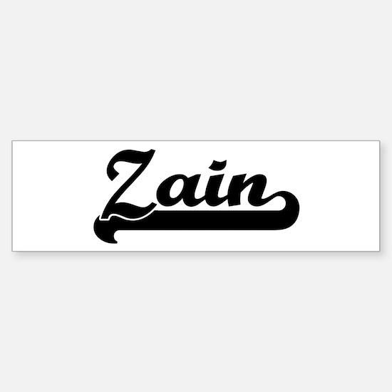 Black jersey: Zain Bumper Bumper Bumper Sticker