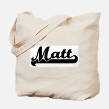 Black jersey: Matt Tote Bag