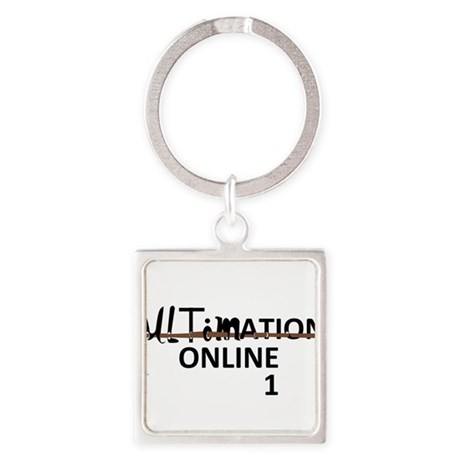 ULTIMATION ONLINE 1 - TITLE Square Keychain