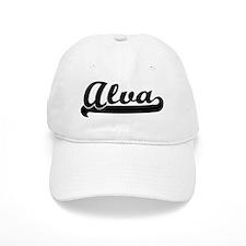 Black jersey: Alva Baseball Baseball Cap