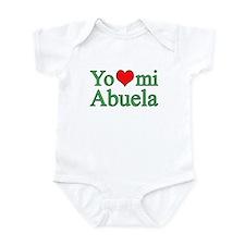 I love my grandma (Spanish) Infant Bodysuit
