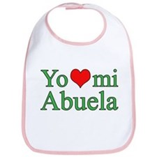 I love my grandma (Spanish) Bib