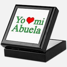 I love my grandma (Spanish) Keepsake Box