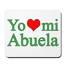 I love my grandma (Spanish) Mousepad