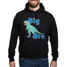Big Bro Green Dinosaur Hoodie