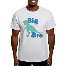 Big Bro Green Dinosaur T-Shirt