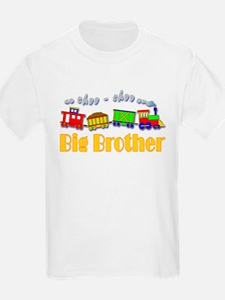 Big Brother Choo Choo Train T-Shirt