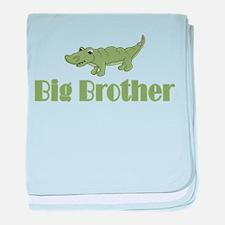Big Brother Crocodile baby blanket