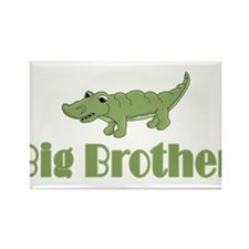Big Brother Crocodile Rectangle Magnet