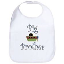 Big Brother Cute Boat Bib