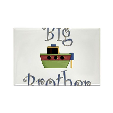 Big Brother Cute Boat Rectangle Magnet